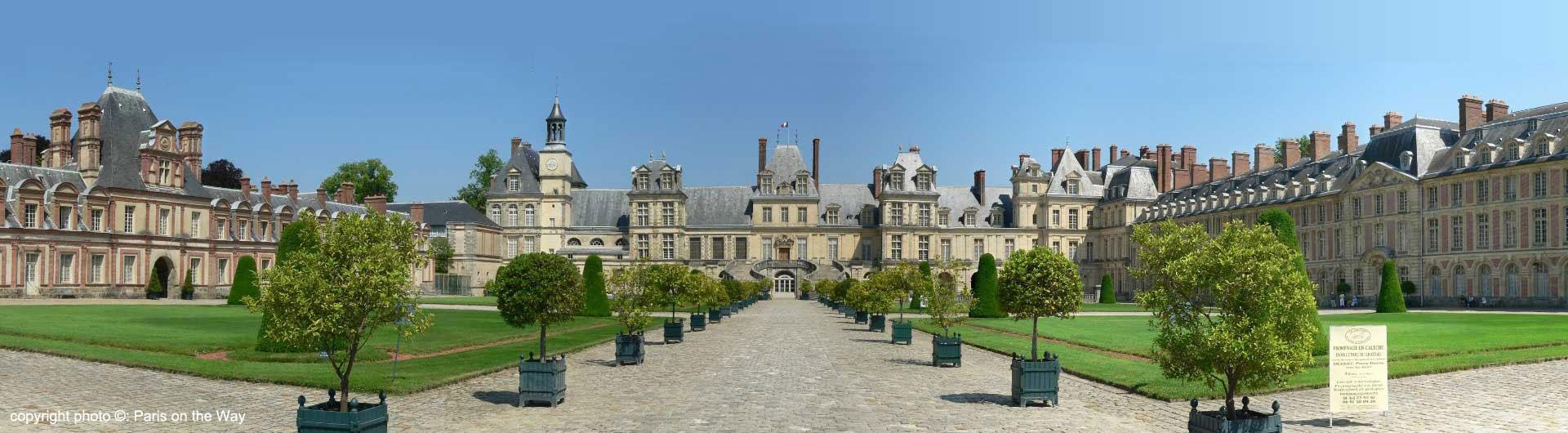 Visite guidée Château de Fontainebleau - visite du château avec ...