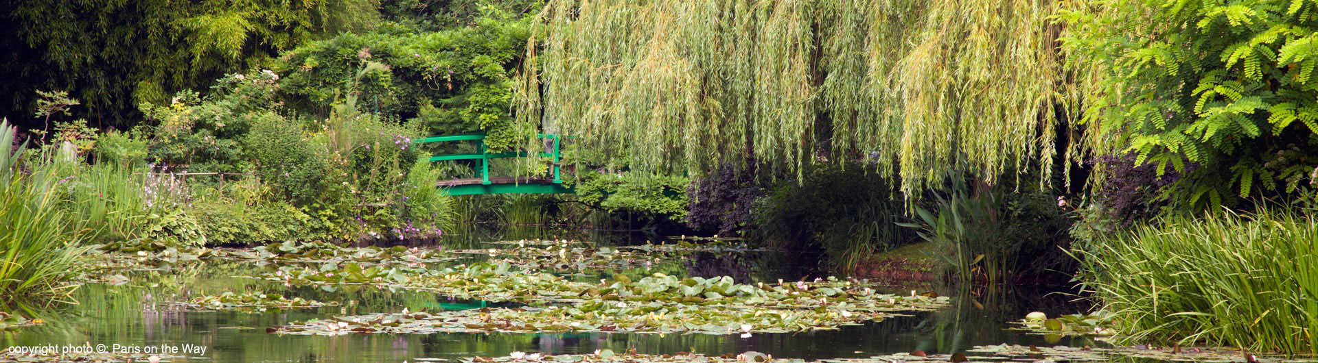 Visite guidée de Giverny & Claude Monet